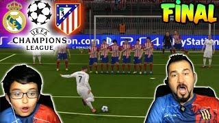 PES 2016 UEFA ŞAMPİYONLAR LİGİ FİNALİ | REAL MADRID-ATLETICO MADRID
