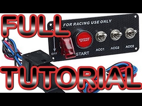 how-to-wire-and-install-an-ignition-switch-panel!