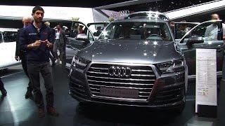 Nuova Audi Q7, il SUV si è messo a dieta | Salone di Ginevra 2015
