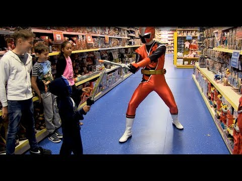 Smyths Toys - Power Rangers Ninja Steel - Kids Parody with Toys!