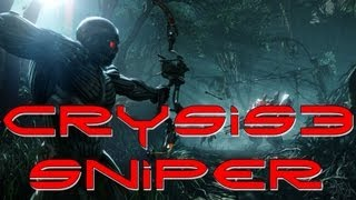 CRYSIS 3 SNIPER GAMEPLAY! (Crysis 3 Beta DSG-1 PC Gameplay/Review)