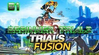 TRIALS FUSION GAMEPLAY BEGINNER TRIALS (PC GTX 690,XBOX ONE,PS4)
