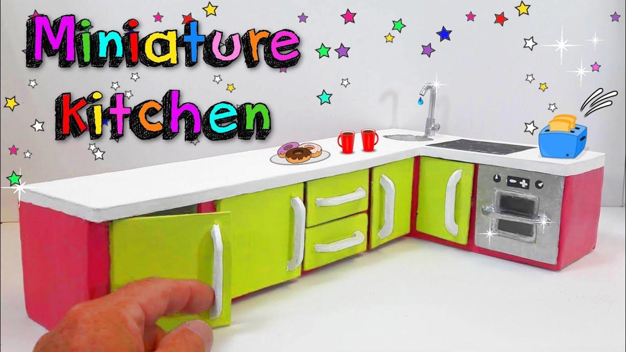 DIY Miniature kitchen ...