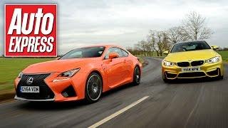 mqdefault Lexus Rc F Vs Bmw M4 F82 Video Vergleich Autocar