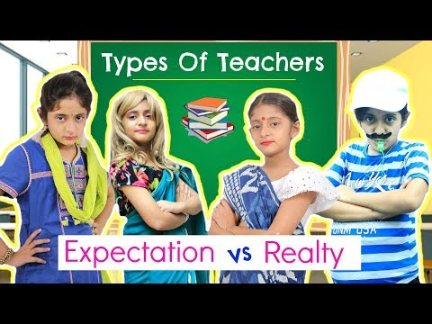 Types Of TEACHERS - Expectations Vs Reality | #Kids #Bloopers #Sketch #Roleplay #MyMissAnand