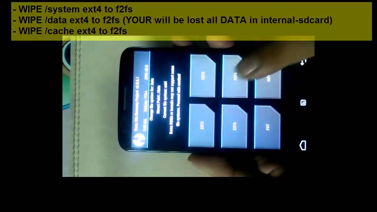 [LGG2] How to convert ext4 to f2fs file system and install LG Stock ROMs
