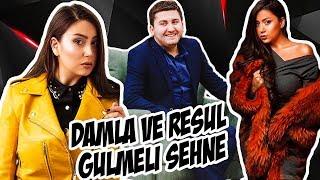 Damla və Rəsul Abbasov'dan Gülməli Səhnə