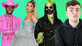GRAMMYS 2020 FASHION ROAST (ariana's gray nightmare and lil nas x saved fashion)