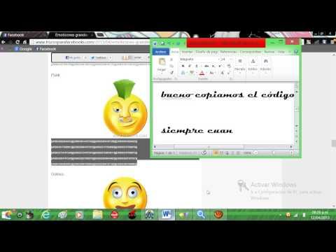 Nuevas Emoticones Para El Facebook 2013!!!!!!