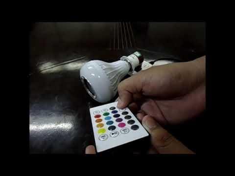 Led Bluetooth Bulb Speaker