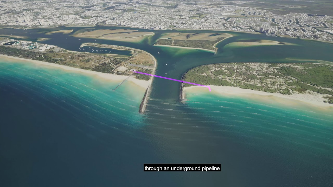 Surfers Paradise Sand Bypass Pipeline