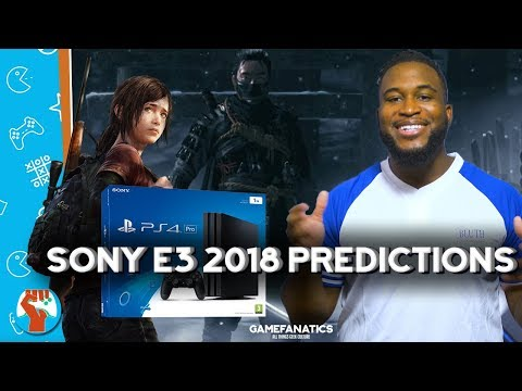 Sony E3 2018 Press Conference Predictions! Ghosts of Tsushima? PS4 Price Drop? And More!