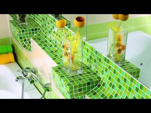Мозаика в ванной комнате – варианты дизайна. Новосибирск