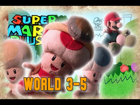 Super Mario Plush World 3-5