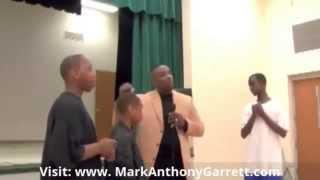 Motivational Speaker: Mark Anthony Garrett Speaks on Perception 614 732 3568