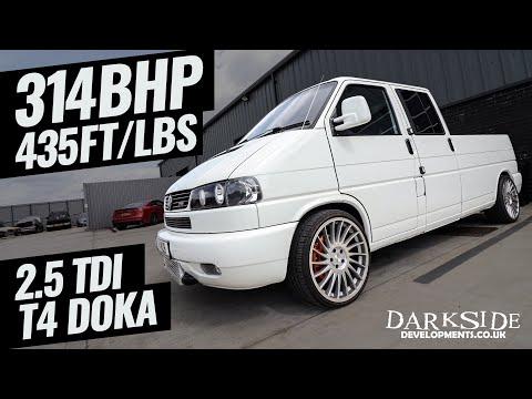 314BHP Transporter T4 DOKA!!! 2.5 TDI VE AXG - Darkside Developments