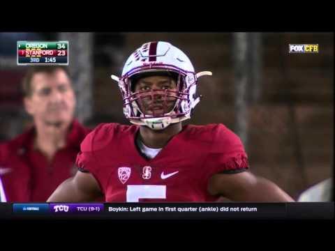 Oregon Ducks vs. Stanford Cardinal- Ducks Highlights 11/14/2015