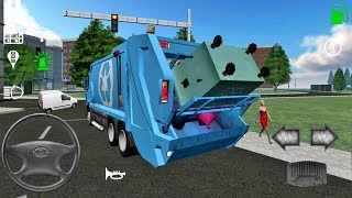 Trash Truck Simulator #15 - Truck Games Android IOS gameplay