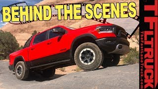 What's The Ultimate Truck Torture Test? Here's a Behind The Scenes Sneak Peek!