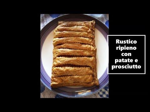 Rustico Ripieno Con Patate E Prosciutto