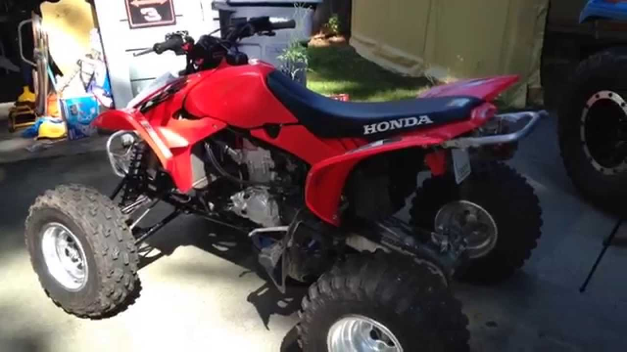 2015 Honda 450R >> How To Check Transmission Fluid Level On a Honda TRX 450R ...