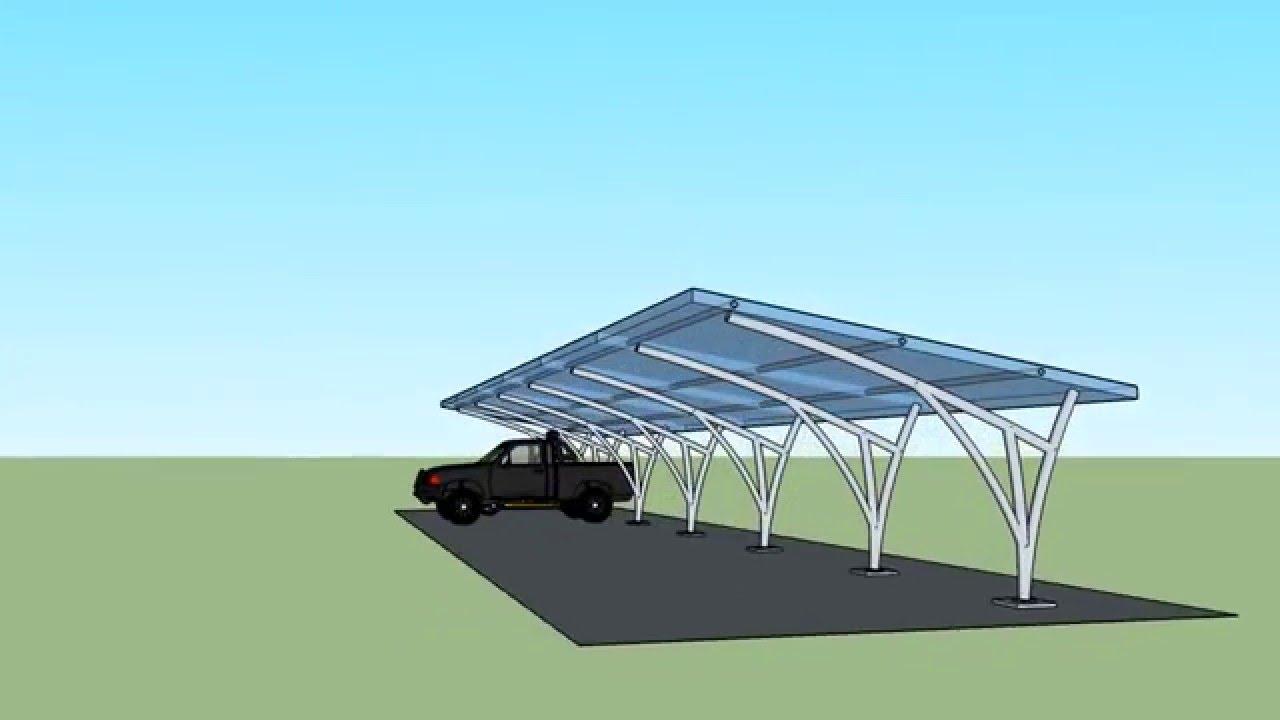 dise o 3d techo para parqueadero en cali policarbonato On techos de escayola de diseño