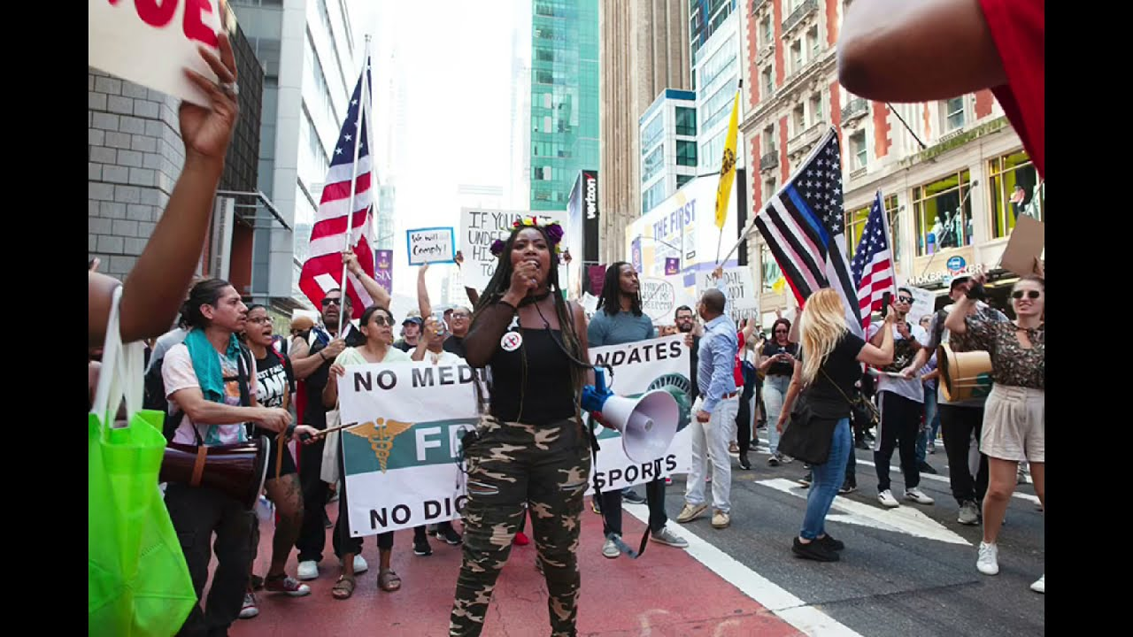 WORLD-WIDE FREEDOM RALLY: NYC 09/18/2021