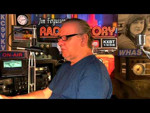 JIM FERGUSSON KC9VKV QSO-VLOG - MIKE-KD5PXH!!! - SOLAR POWERED RADIO - FERGUSSON/TRAX - RS 1200
