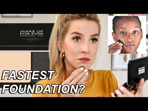 FASTEST POWDER FOUNDATION ROUTINE EVER? New Foundation Wear Test | LeighAnnSays