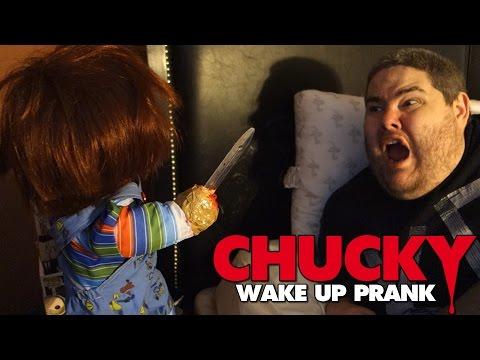 THE CHUCKY DOLL WAKE-UP PRANK!!