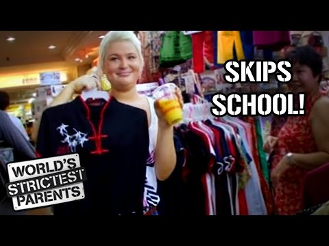 Teen Leaves School to Go Shopping! | World's Strictest Parents