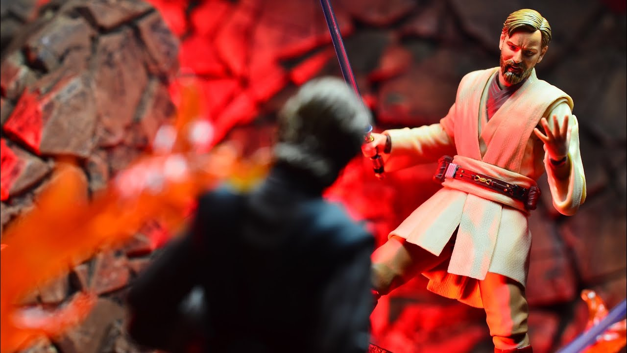 S H Figuarts Star Wars Revenge Of The Sith Obi Wan Kenobi Review Youtube
