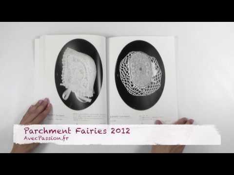 Livre Parchment Fairies 2012 pour Pergamano et Parchment Craft