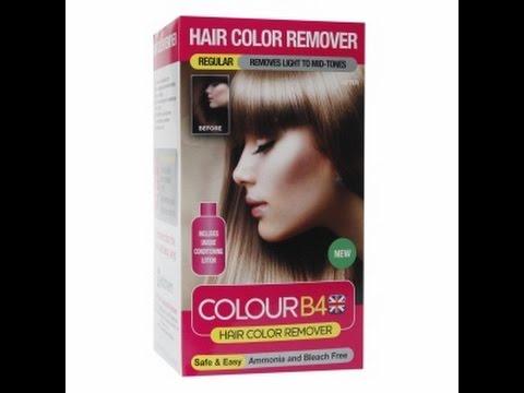 b4 hårfarve fjerner