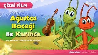Adisebaba Çizgi Film Masallar - Ağustos Böceği ile Karınca
