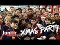 Junior Gunners Christmas party!