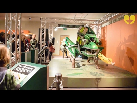 The Robot Zoo Exhibition at The Horniman Museum in London by WinkBall