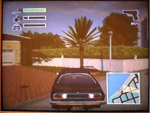 Jogando Driver 3 ps2 (portugues)