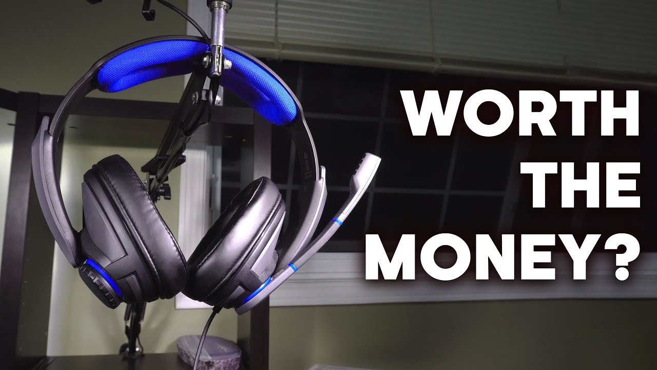 d06f5a58b63 A Sennheiser Headset for $100? - GSP 300 Review! - YouTube