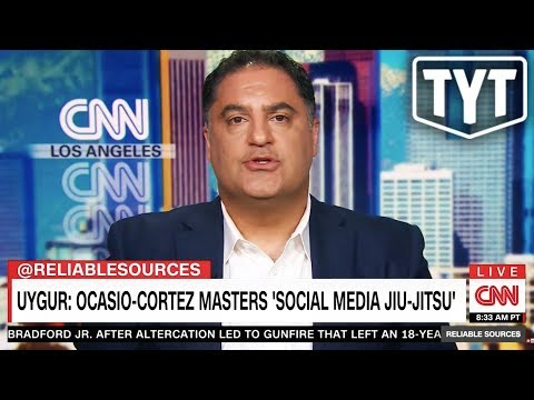 Cenk Defending Alexandria Ocasio-Cortez On CNN