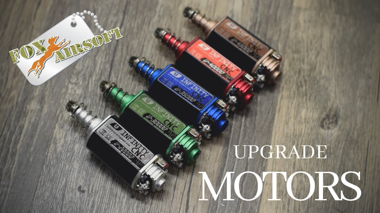 Big Dragon Airsoft High Speed M120 Motor Upgrade Rate of Fire Trigger Response