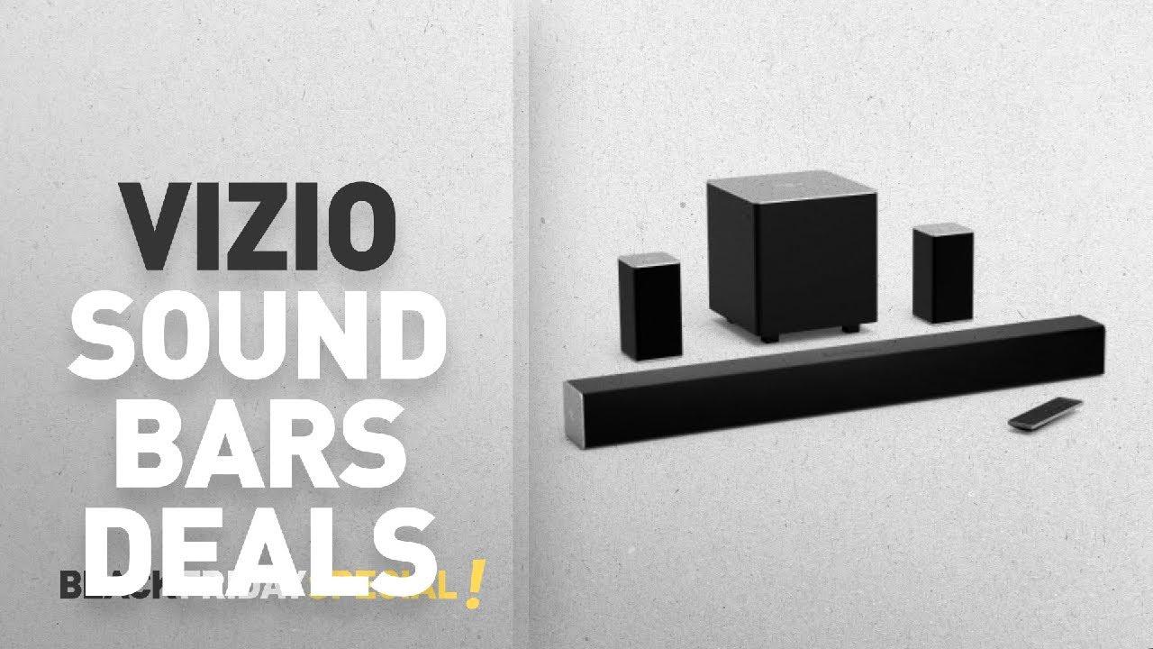 Top Black Friday Vizio Sound Bars Deals 32 5 1 Soundbar System Sb3251n E0