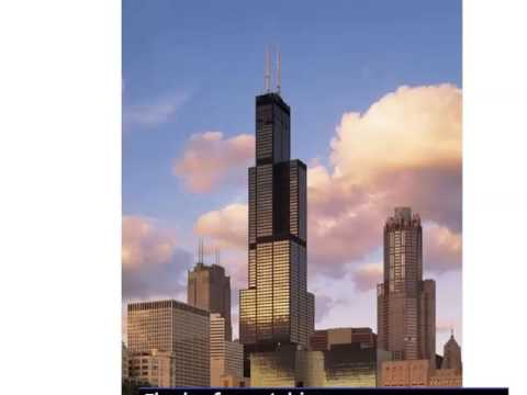 Willis Tower (Sears Tower)  Pictures Of Most Beautiful & One Of The World Best Location To Visit