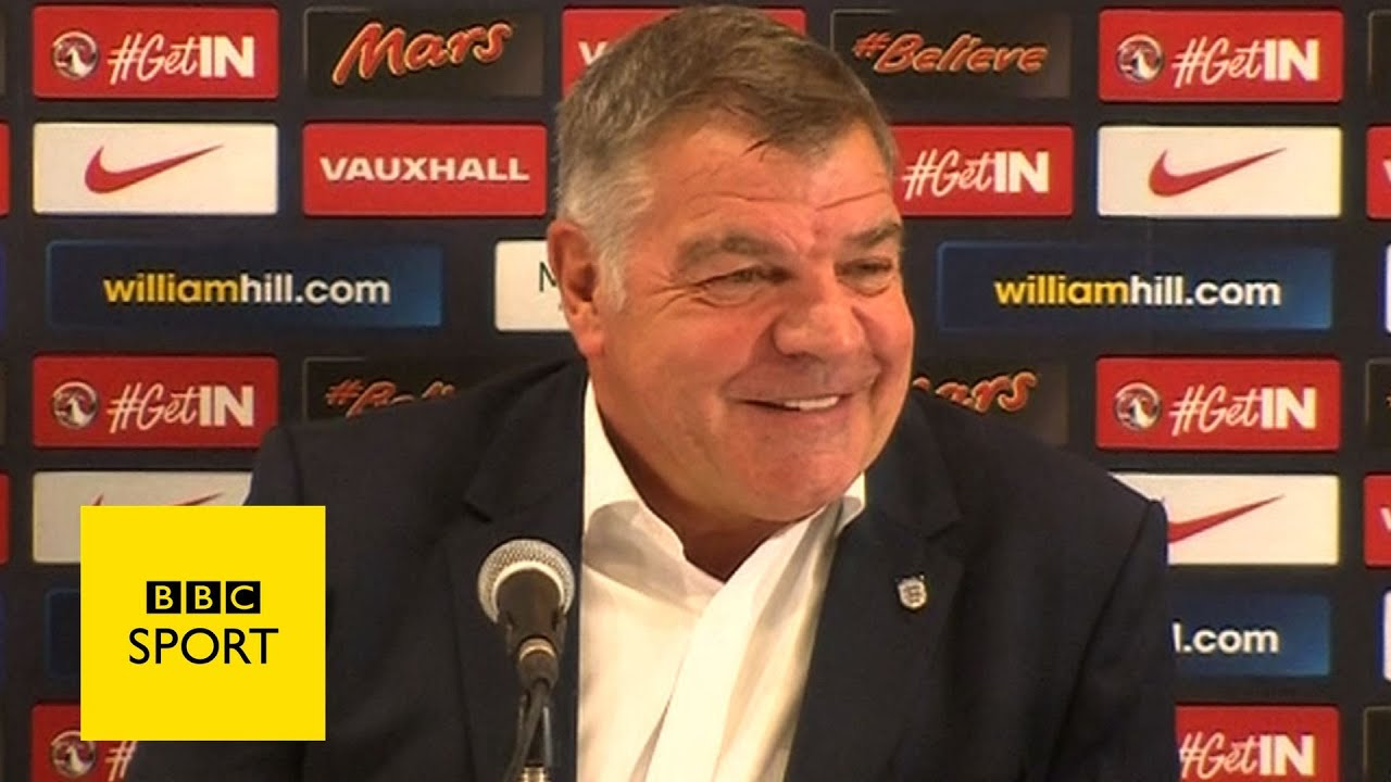 Sam Allardyce's first appearance as England manager - BBC Sport