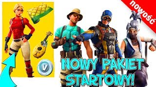 NEW SKINS, new starter pack, emotes, gatherers and weapon packs-Fortnite update 8.10