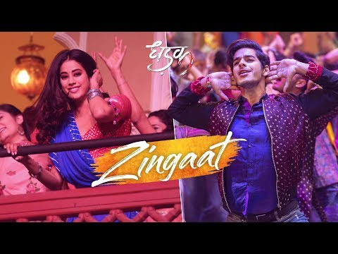 Mix - Zingaat | Dhadak | Janhvi & Ishaan | Shashank Khaitan | Ajay - Atul | In Cinemas Now