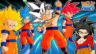 ALL GOKU FORMS TEAM UP! Dragon Ball Fusions 3DS Gameplay: Will It Fuse?