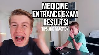 REACTION: I PASSED THE ENTRANCE EXAM FOR MEDICAL SCHOOL! (my experience, tips, how I did it)