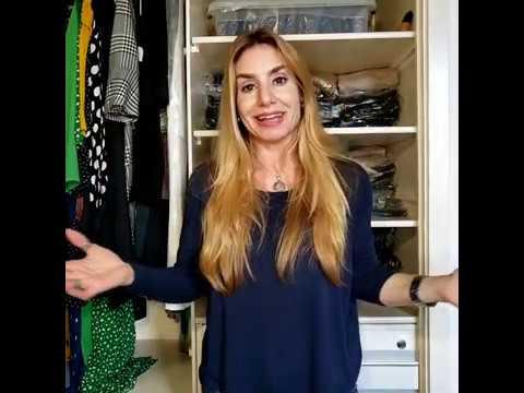 10 Dicas para você organizar seu guarda-roupa ou closet