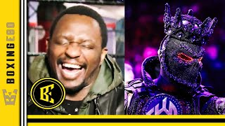 WHAT!?! DEONTAY WILDER FALLS B…